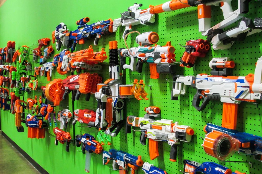 Expensive And Motorized Nerf Guns That Children Will Be Excited To Play With All Birthday Parties Include 30 Minutes Of Preparation